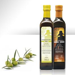 Aceite de oliva virgen extra Parqueoliva y Parqueoliva Bio