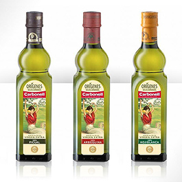 Trio Carbonell Extra Virgin oils